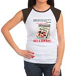 Buy a Gun Day Women's Cap Sleeve T-Shirt