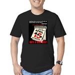 Buy a Gun Day Men's Fitted T-Shirt (dark)