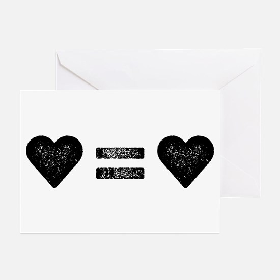 Love Equals Love Greeting Cards (Pk of 10)