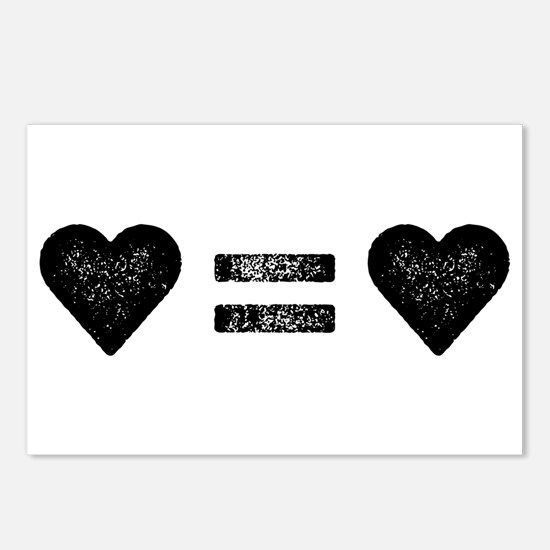 Love Equals Love Postcards (Package of 8)