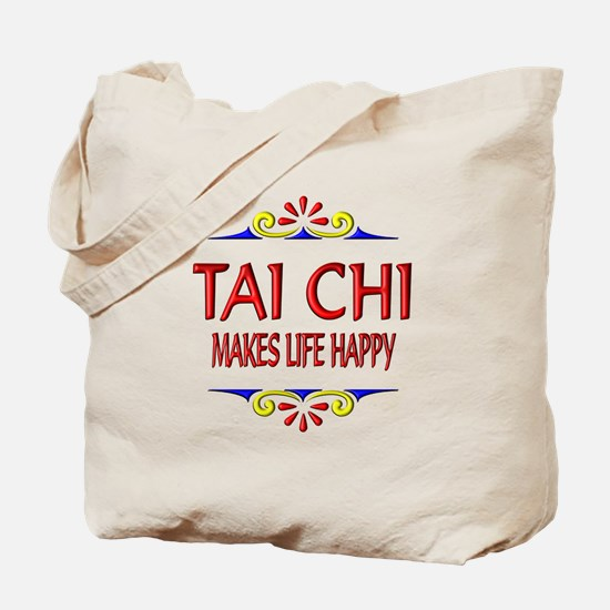 Tai Chi Happy Tote Bag