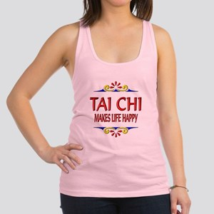 Tai Chi Happy Racerback Tank Top
