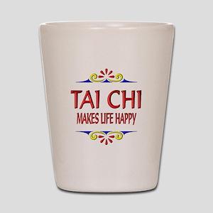 Tai Chi Happy Shot Glass