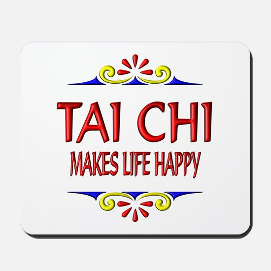Tai Chi Happy Mousepad