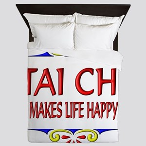 Tai Chi Happy Queen Duvet