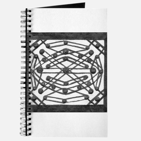 Symmetrical Box Art Print Journal