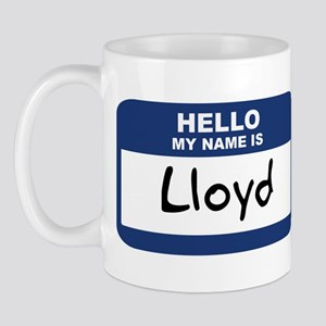 Hello: Lloyd Mug