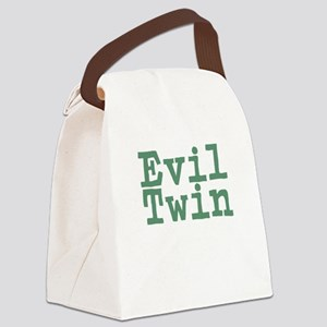 Evil Twin Canvas Lunch Bag