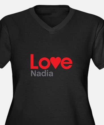 I Love Nadia Plus Size T-Shirt
