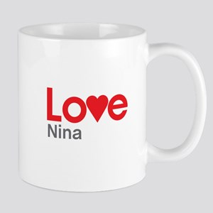 I Love Nina Mug