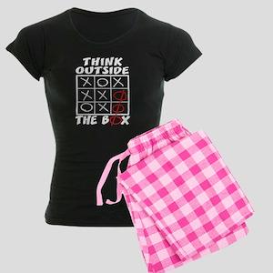 Think Outside The Box Women's Dark Pajamas