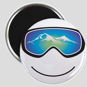 Happy Skier/Boarder Magnet