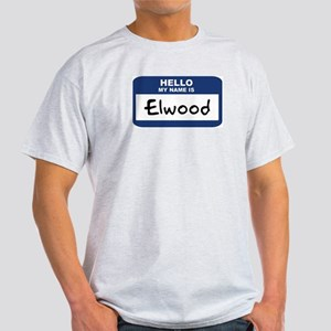 Hello: Elwood Ash Grey T-Shirt