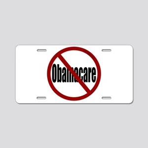 No Obamacare Aluminum License Plate