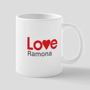 I Love Ramona Mug