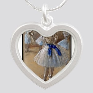 degas Silver Heart Necklace