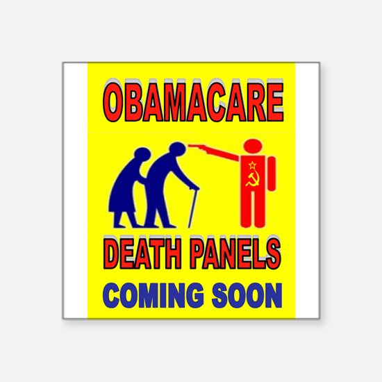 OBAMACARE DEATH Sticker