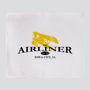Airliner Logo Throw Blanket