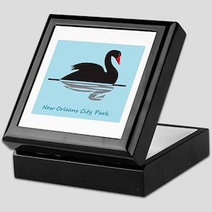 Amanda Erika Black Swan Keepsake Box