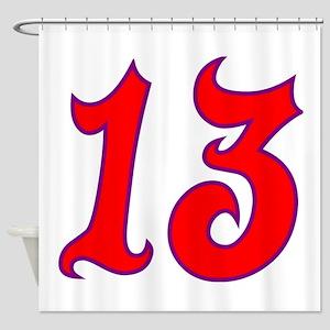 Fire 13 Shower Curtain