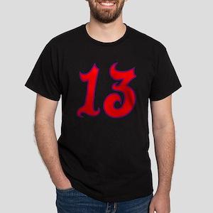 Fire 13 Dark T-Shirt
