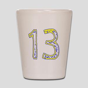 Fun 13 Shot Glass