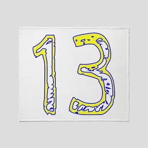 Fun 13 Throw Blanket