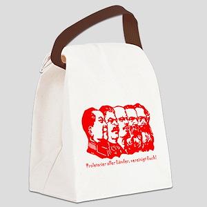 Mao,Stalin,Lenin,Engels,Marx Canvas Lunch Bag