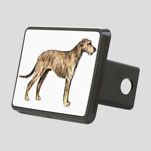 Irish Wolfhound Rectangular Hitch Cover
