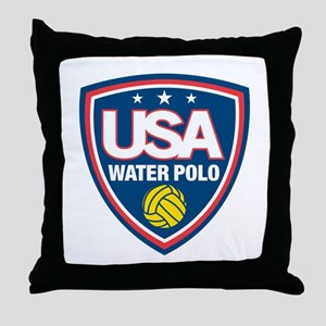 water polo Throw Pillow