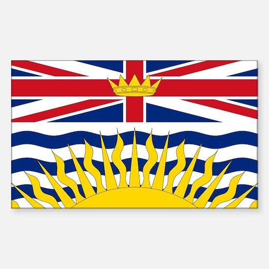 British Columbian Flag Decal