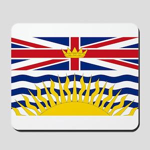 British Columbian Flag Mousepad
