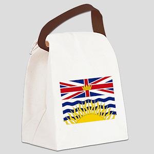 British Columbian Flag Canvas Lunch Bag