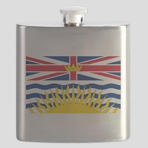 British Columbian Flag Flask