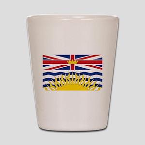 British Columbian Flag Shot Glass