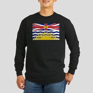 British Columbian Flag Long Sleeve T-Shirt