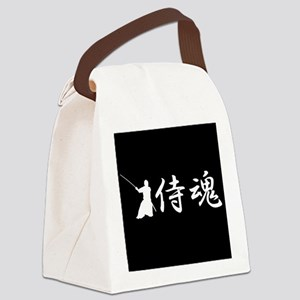Samurai spirit Canvas Lunch Bag