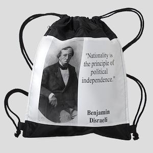 Nationality Is The Principle - Disraeli Drawstring