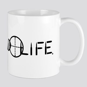 Lead Life Black Mug