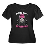 Pain for Pleasure Women's Plus Size Scoop Neck Dar
