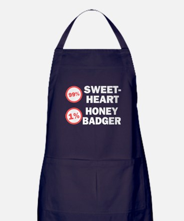 Sweetheart vs. Honey Badger Apron (dark)