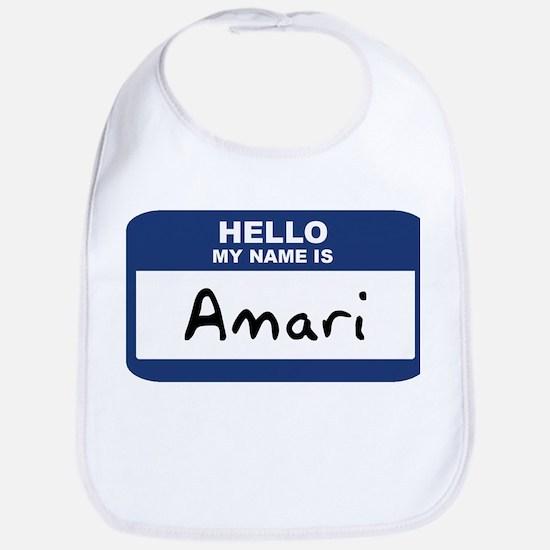 Hello: Amari Bib