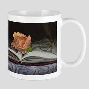 Rose and Book 130130 Mug