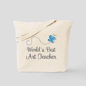 Art Teacher (Worlds Best) Tote Bag