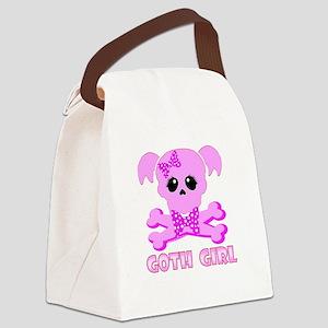 NCIS Abby Goth Canvas Lunch Bag