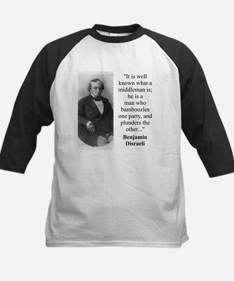 It Is Well Known - Disraeli Tee