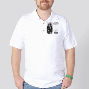 It Is Well Known - Disraeli Polo Shirt