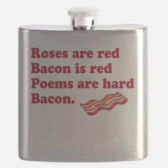 Bacon Poem Flask