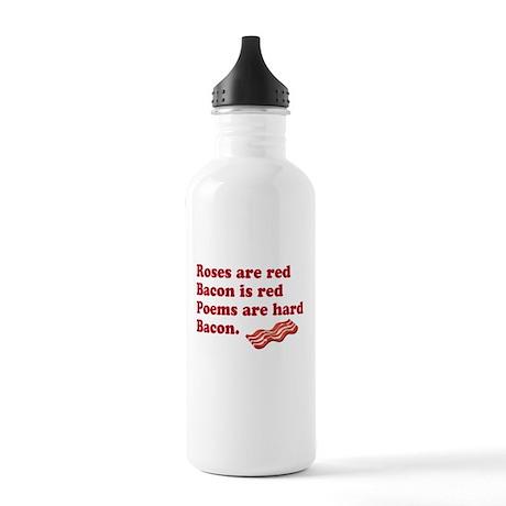 Bacon Poem Water Bottle