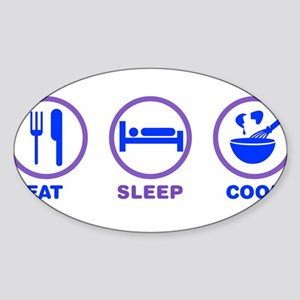 Eat Sleep Cook Sticker